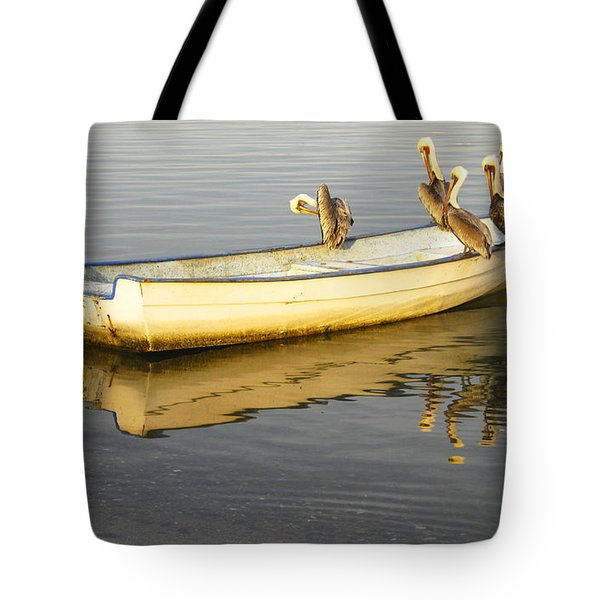 Pelican Express Tote Bag by Anne Mott