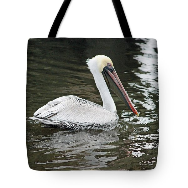 Pelican Solo Tote Bag by Suzanne Gaff