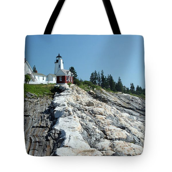Pemaquid Point Lighthouse Tote Bag by Ted Kinsman