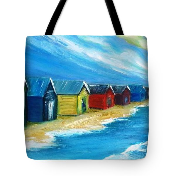Peninsular Boatsheds Tote Bag