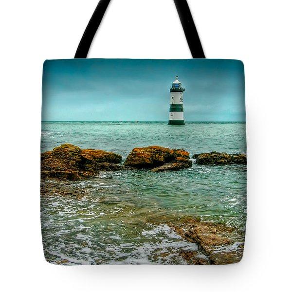 Penmon Point Tote Bag by Adrian Evans