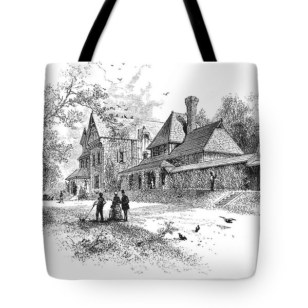 Pennsylvania: House, 1876 Tote Bag by Granger