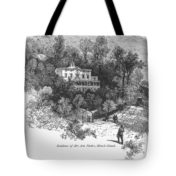 Pennsylvania: House, C1876 Tote Bag by Granger