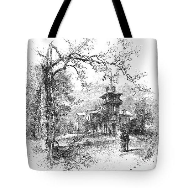 Pennsylvania: Mansion Tote Bag by Granger