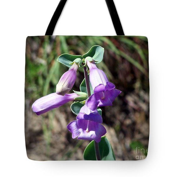 Penstemon Tote Bag