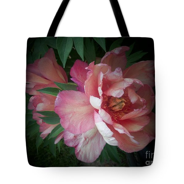 Peonies No. 8 Tote Bag