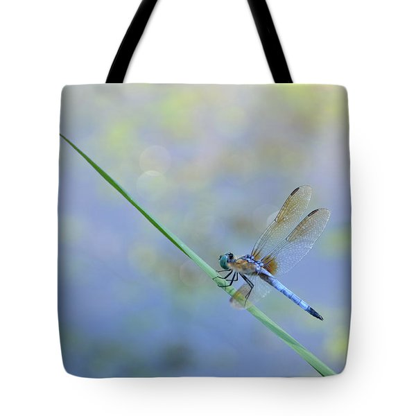 Tote Bag featuring the photograph Perched Dragon by JD Grimes