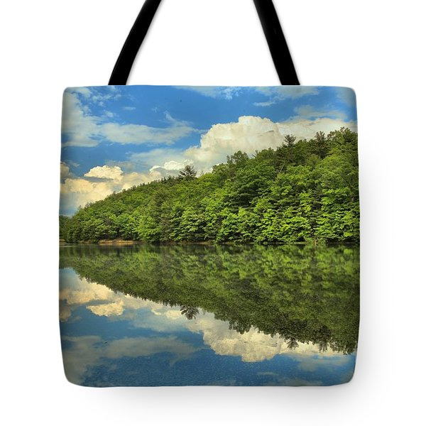 Perfect Reflections Tote Bag by Adam Jewell