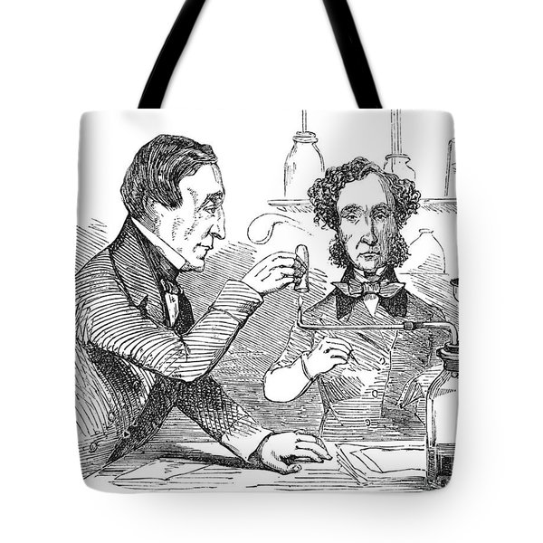 Performing The Marsh Test, 1856 Tote Bag by Science Source