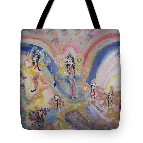 Persian Fairy Entrance Tote Bag by Judith Desrosiers