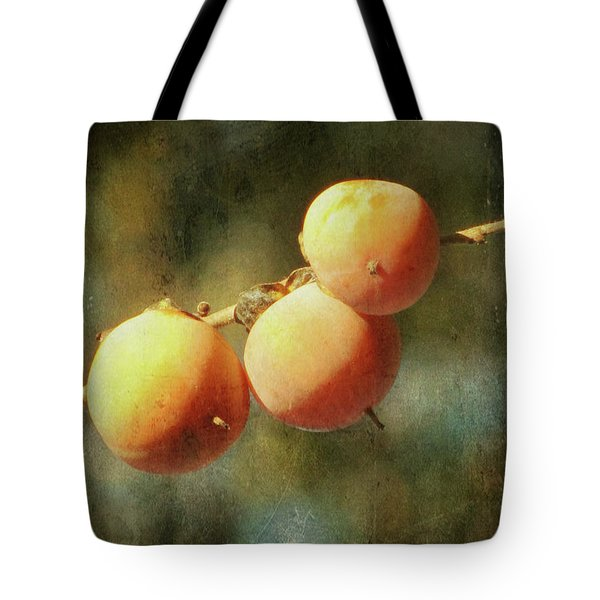 Persimmons Tote Bag by Amy Tyler