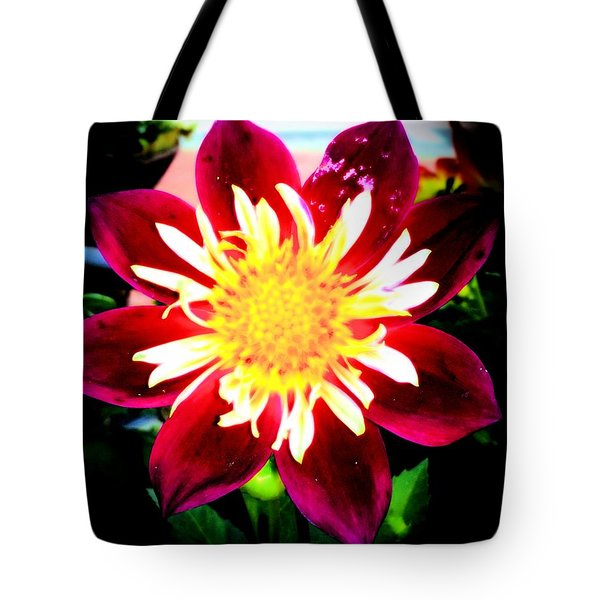 Personally Dahlia Tote Bag