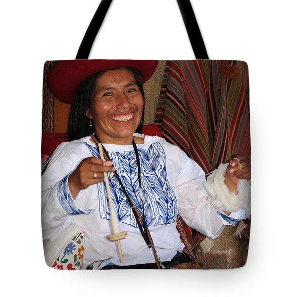 Peruvian Weaver Tote Bag
