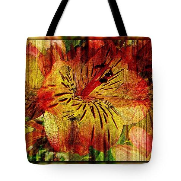 Petal Paradigm Tote Bag by Tim Allen