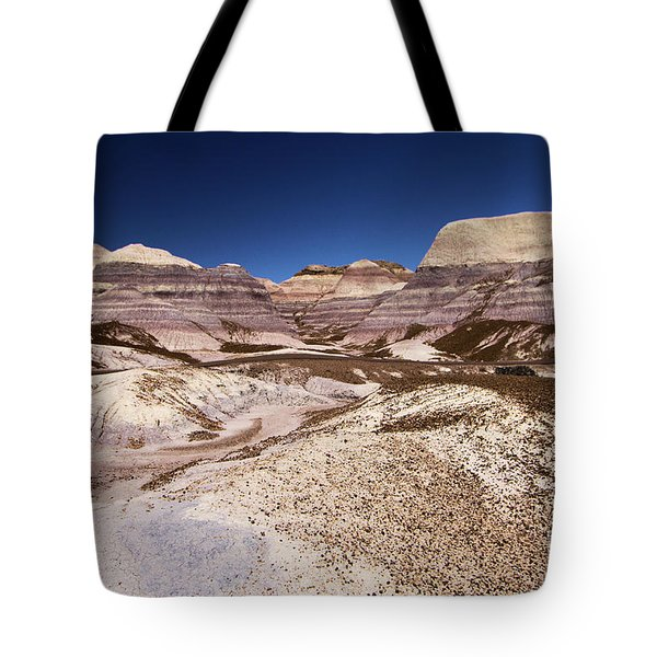 Petrified Forest Blue Mesa Tote Bag