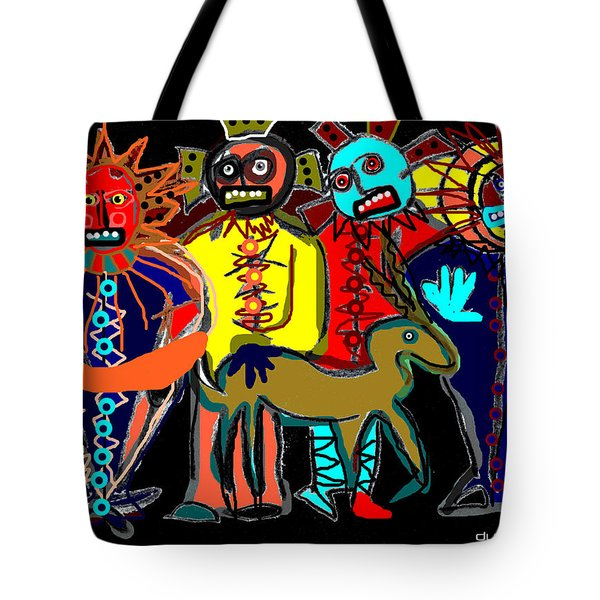 Petroglyph Tote Bag
