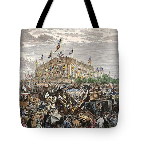Philadelphia Expo, 1876 Tote Bag by Granger