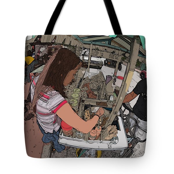 Philippines 91 Street Food Tote Bag