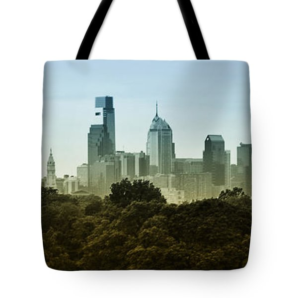 Philly Panorama Tote Bag by Bill Cannon