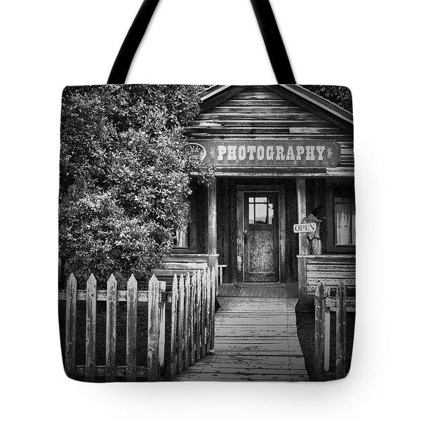 Photo Shop  Tote Bag by Jerry Cordeiro