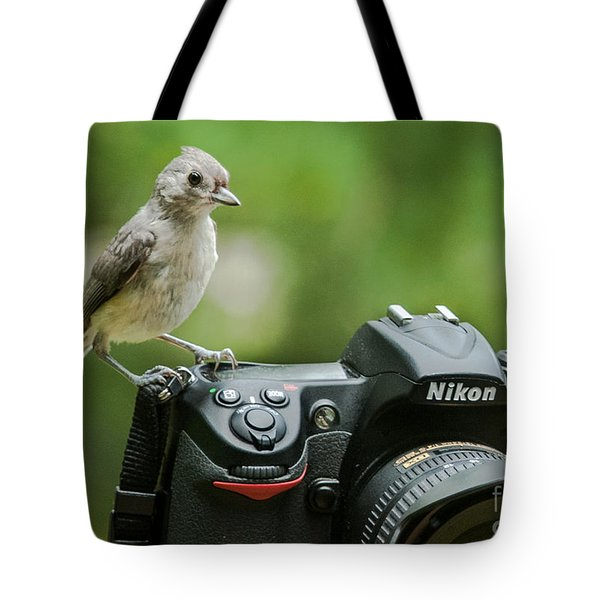 Photographer's Little Helper Tote Bag by Jim Moore