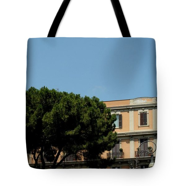 Piazza Cavour Tote Bag