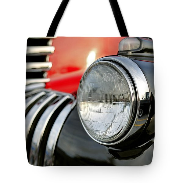 Pickup Chevrolet Headlight. Miami Tote Bag