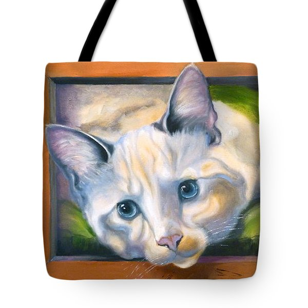 Picture Purrfect Tote Bag