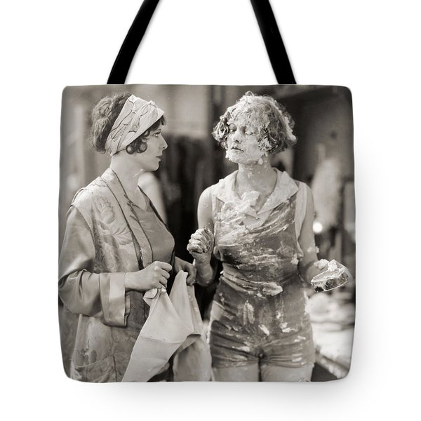 Pie In The Face Tote Bag by Granger