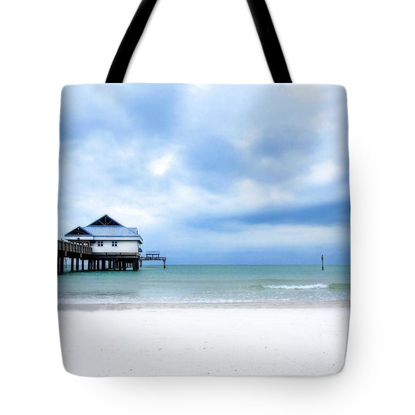 Pier 60 At Clearwater Beach Florida Tote Bag