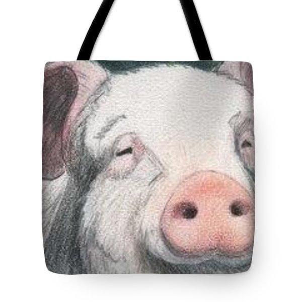 Pig - Aceo Tote Bag