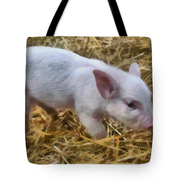 Piglet Tote Bag