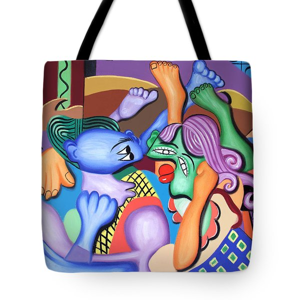 Pillow Talk Tote Bag by Anthony Falbo