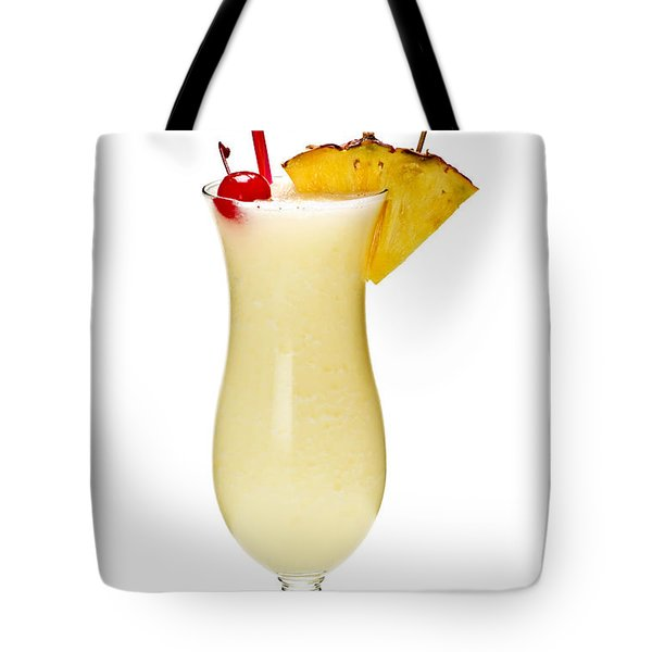 Pina Colada Cocktail Tote Bag by Elena Elisseeva