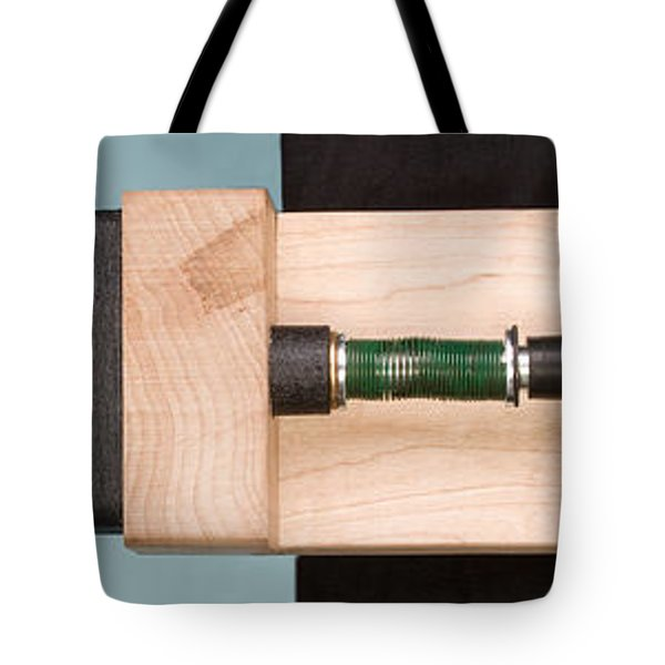 Pinball Spring Compressed Tote Bag by Ted Kinsman