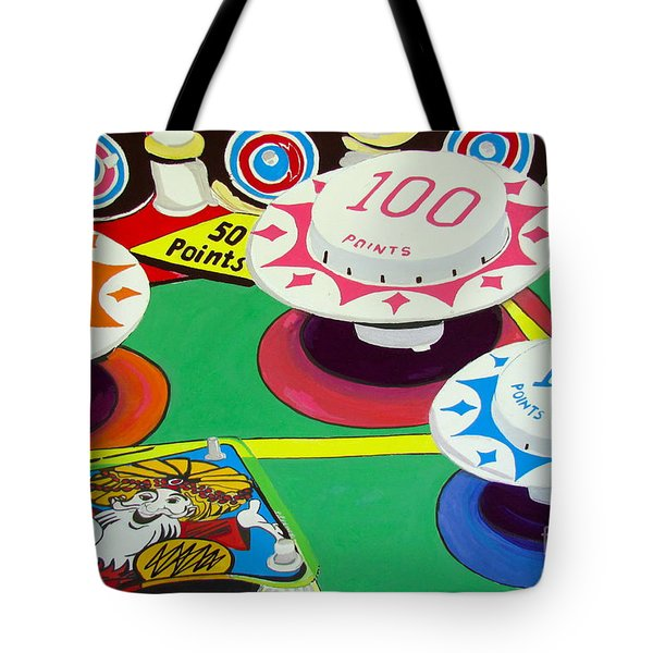 Pinball Wizard Tote Bag