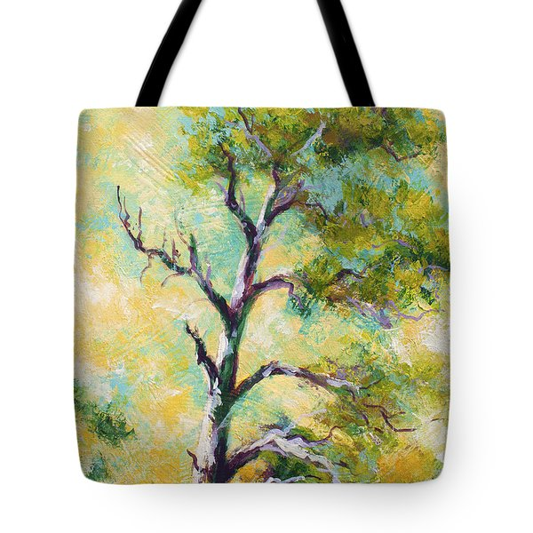 Pine Abstract Tote Bag