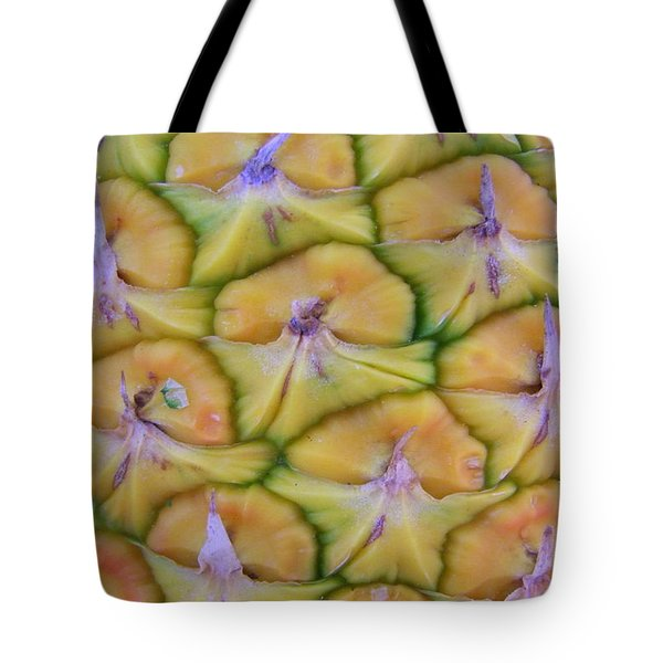 Pineapple Eyes Tote Bag by Mary Deal