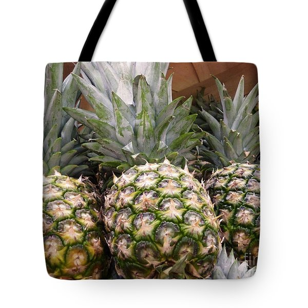Pineapples Tote Bag by Methune Hively