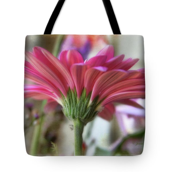 Tote Bag featuring the photograph Pink Beauty by Joan Bertucci
