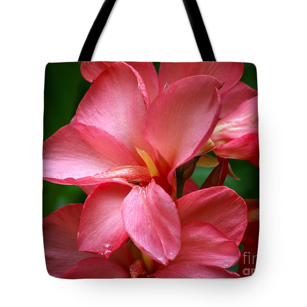 Pink Canna Tote Bag