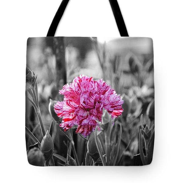 Pink Carnation Tote Bag