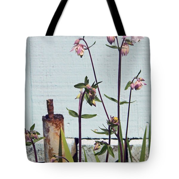 Pink Doves Tote Bag by Pamela Patch