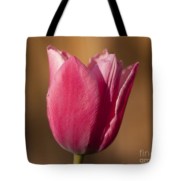 Pink Tote Bag by Eunice Gibb