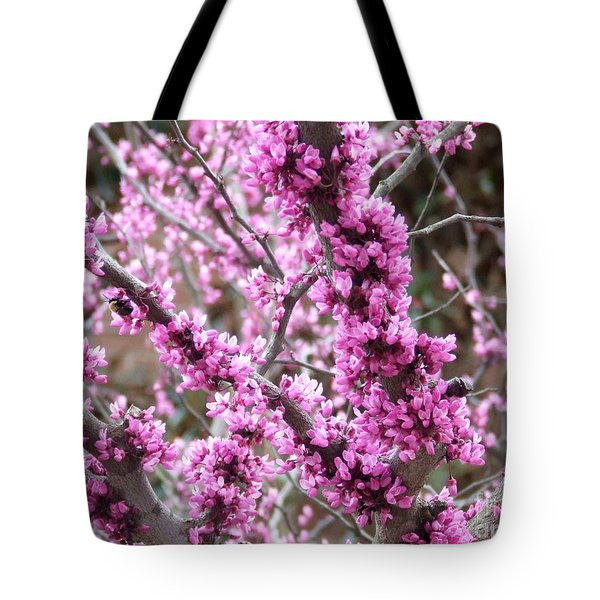 Pink Flower Tote Bag by Andrea Anderegg