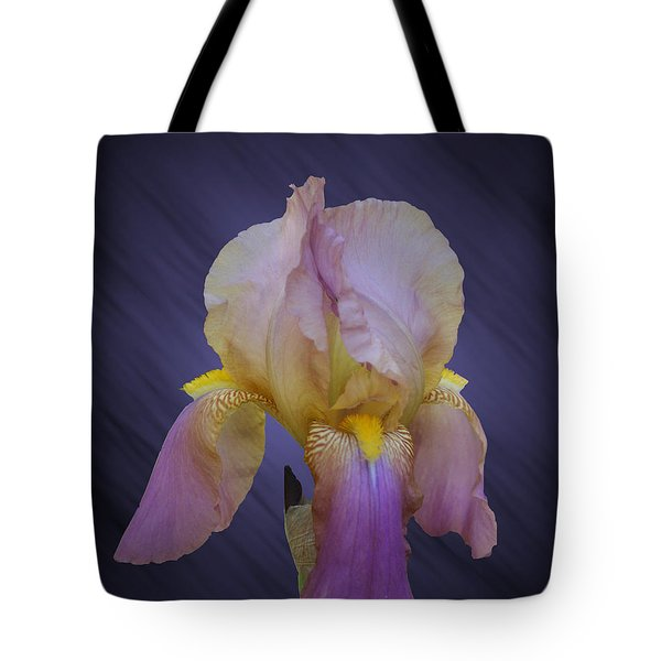Pink Iris Tote Bag by Rick Friedle