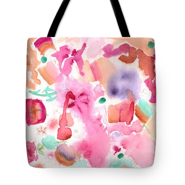 Pink Love Tote Bag by Paula Ayers