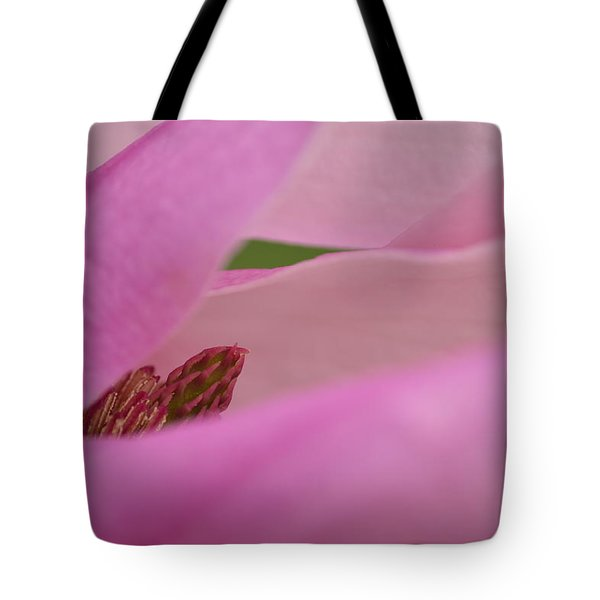 Pink Magnolia Tote Bag by JD Grimes