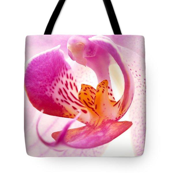 Pink Phalaenopsis Tote Bag