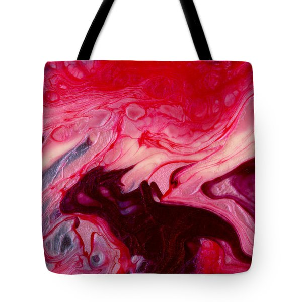 Pink Polish Tote Bag